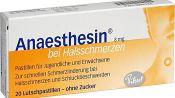 Местный анестетик Анестезин